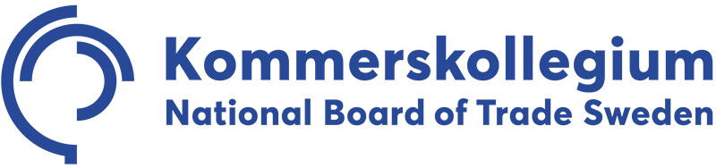 Kommerskollegium logotype international